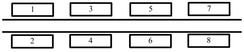 Схема домов